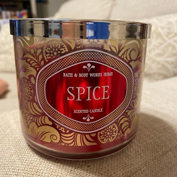 BBW Spice 3 Wick Candle